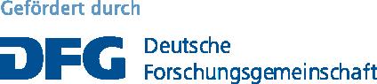 Logo DFG - Deutsche Forschungsgemeinschaft
